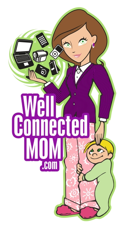 WellConnectedMom LOGO MOM