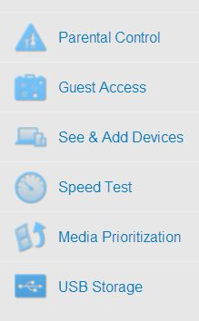 Linksys SMART Wi-Fi Controls