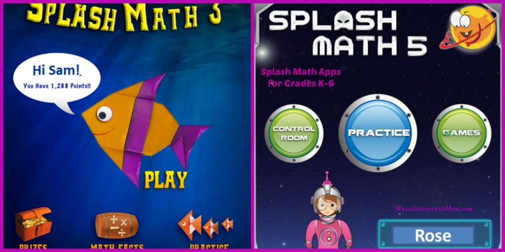 Preparing Your Kids for School with Splash Math Apps