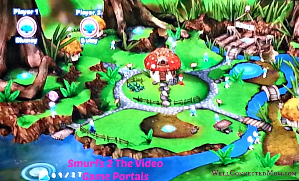 Smurfs 2 - A Worthwhile Family Fun Video Game - The Well Connected Mom