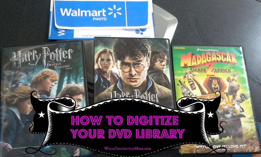 digitize your DVD library