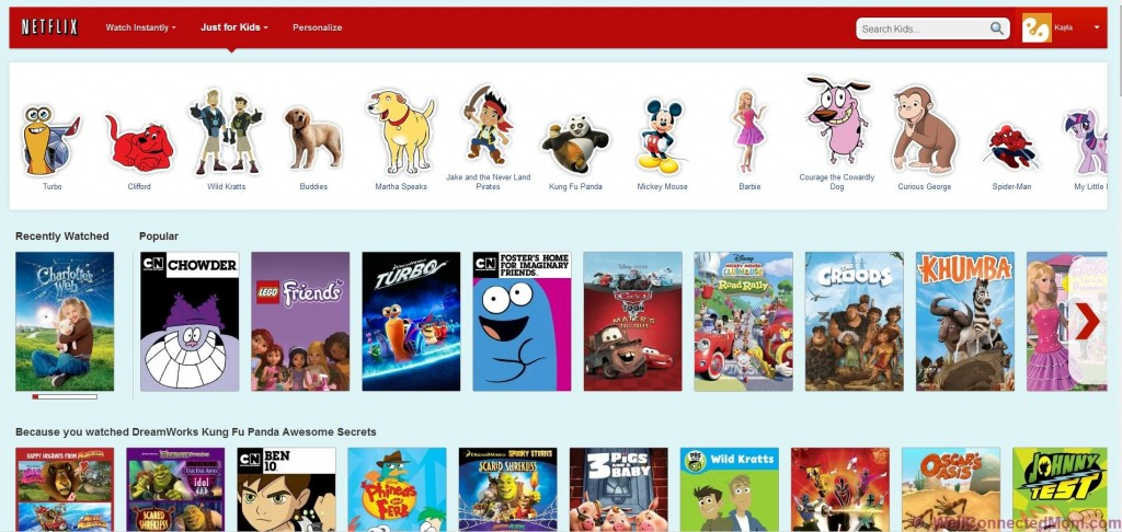 What\'s In Your Netflix Queue? - The Well Connected Mom