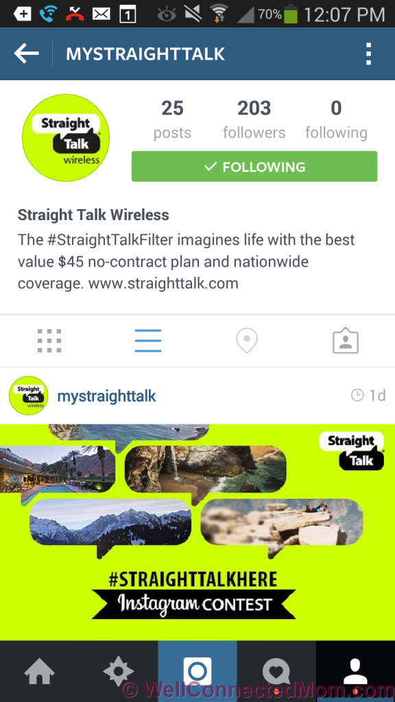 Straight Talk Instagram