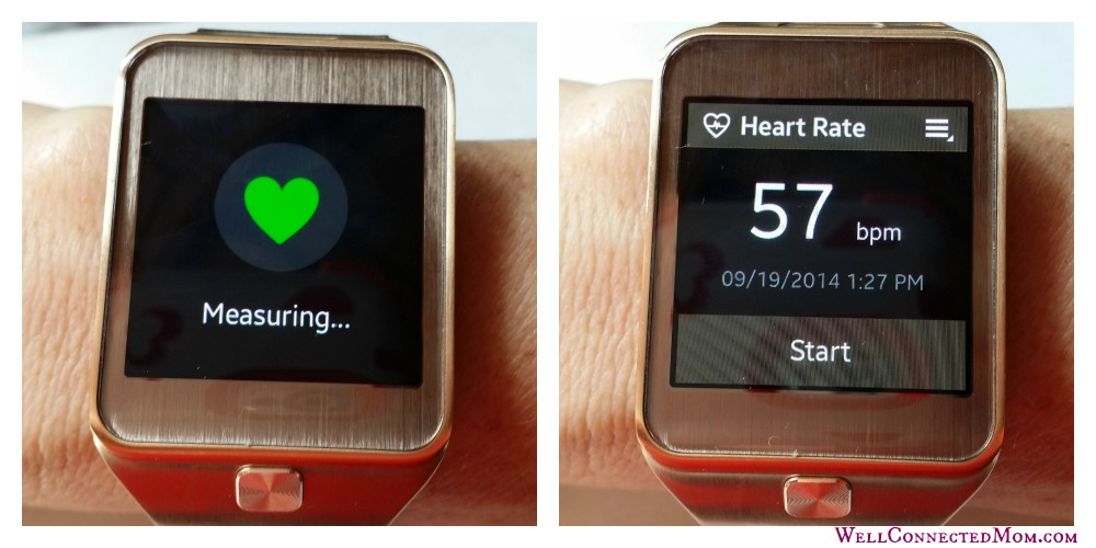 Samsung Galaxy Gear 2 Smartwatch heartbeat Col