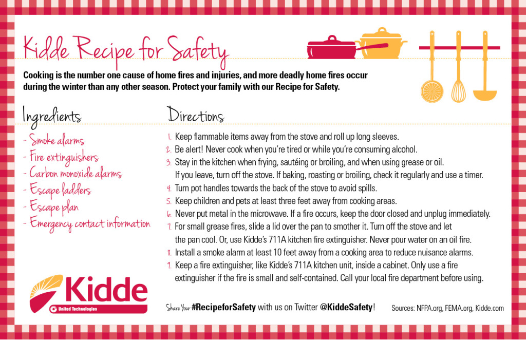 Holiday Recipe For Fire Safety