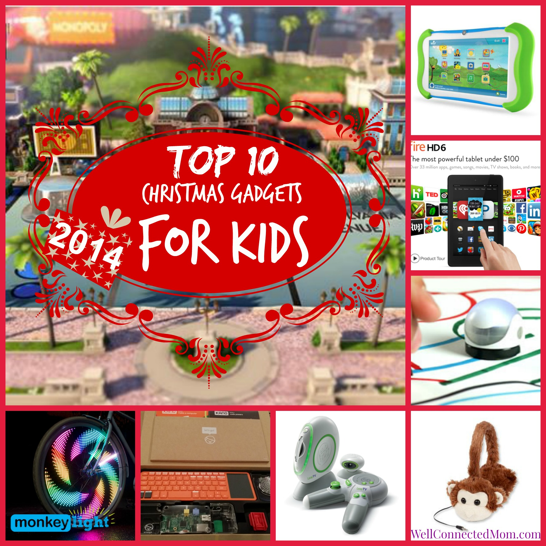 Top 10 christmas gadgets for kids 2014 the well Cool tech gadgets for christmas