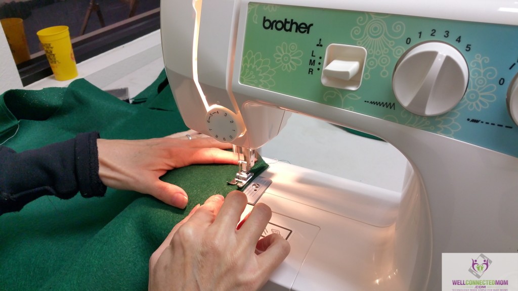 how to sew with a needle on a sewing machine