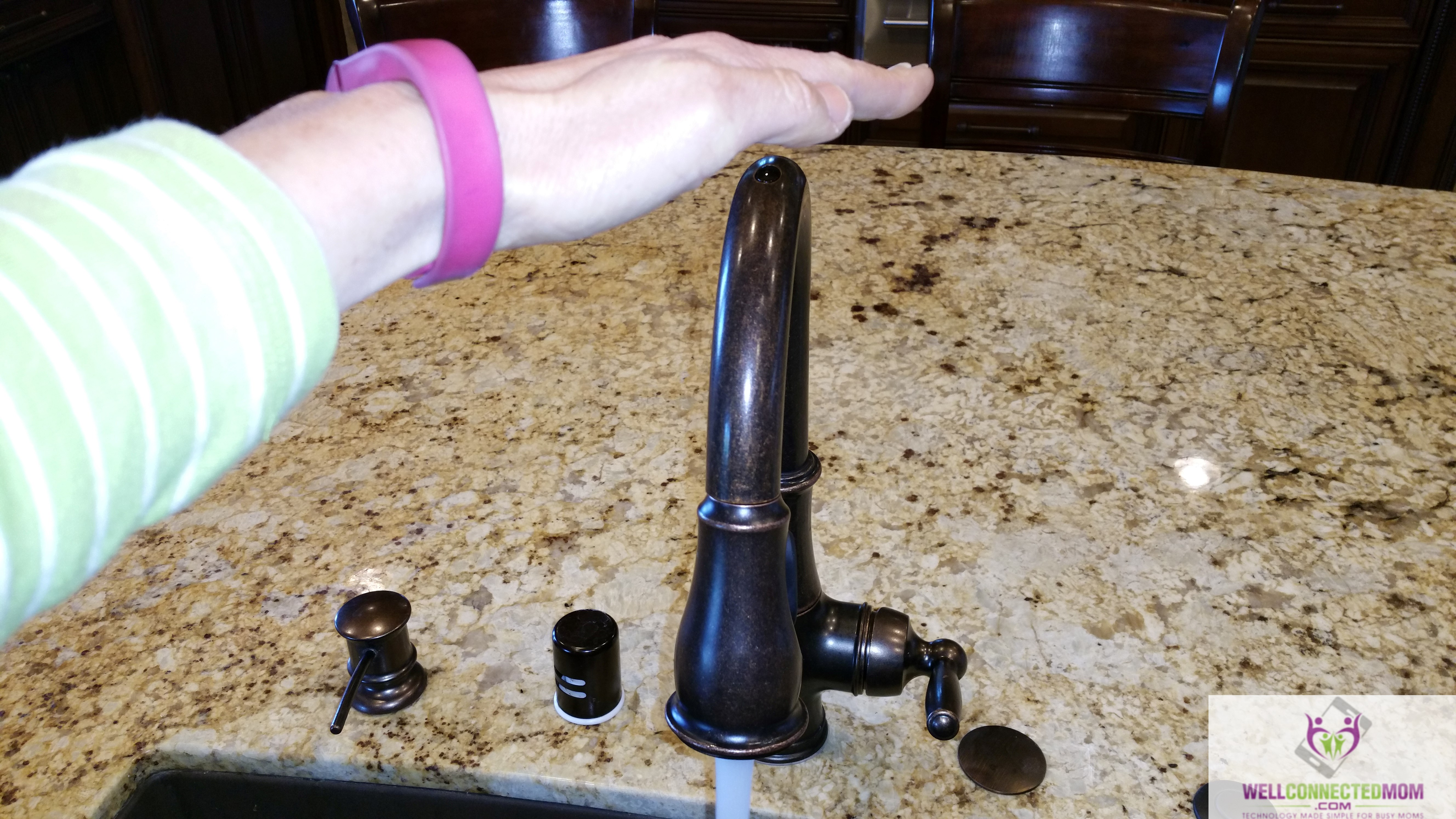 Motionsense Kitchen Faucet Look Mom No Hands Moens Motionsense Faucet The Well