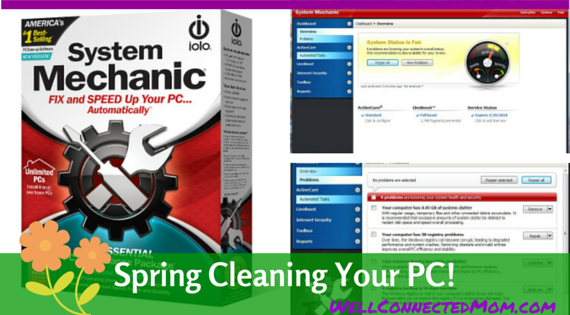 Spring Clean your PC System Mechanic 14 Main