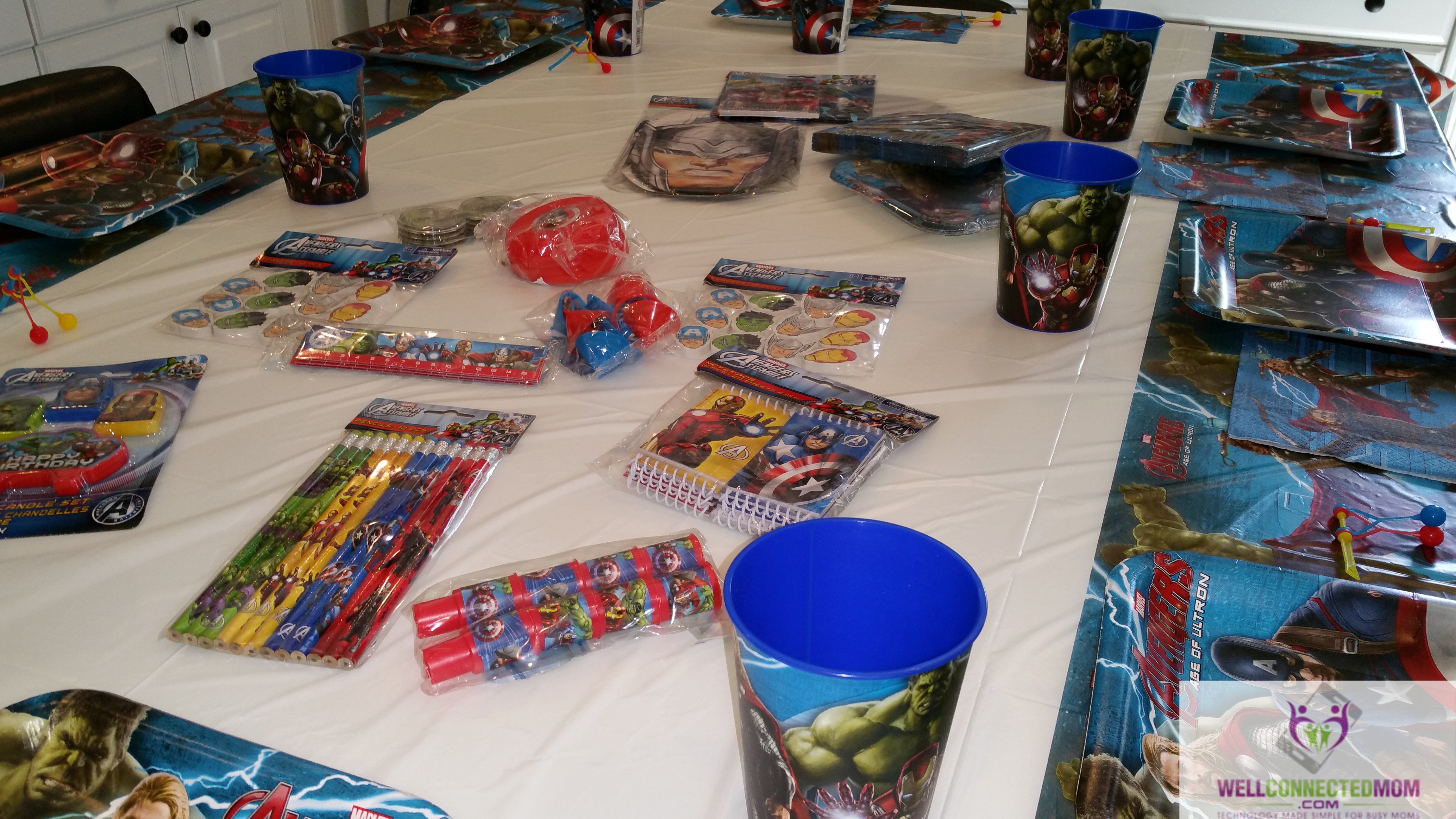 Fancy Now is the time to throw an AVENGERS u party There is so many Marvel themed decorations and party favors available We were inspired to throw an AVENGERS