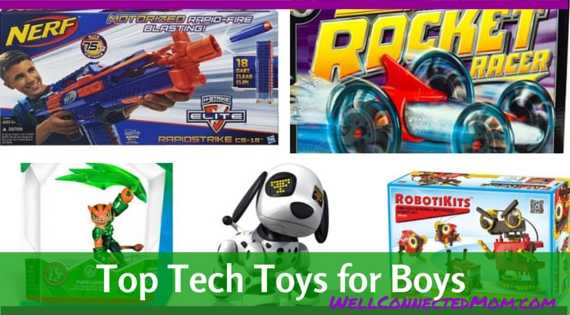 Technology Toys For Boys : Birthdays top tech toys for boys the well connected mom