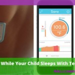 Track Your Child's Temperature While They Sleep with TempTraq!