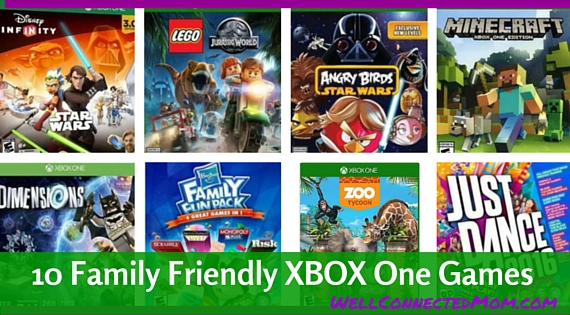 10 Kid Friendly Xbox One Video Games - The Well Connected Mom