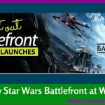 Star Wars Battlefront Video Game Preview at Walmart