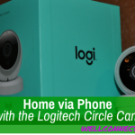 Home Via Phone with the Logitech Circle Cam