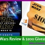 A Family Review of STAR WARS: The Force Awakens & GIVEAWAY!