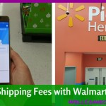 Save Shipping Costs By Using Walmart Pickup