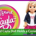 My Friend Cayla Interactive Doll Holds a Conversation!