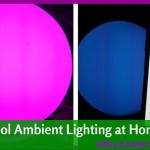 Adding Fun Creative Lighting For Entertaining