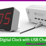 Sandman USB Clock – De-clutter your Nightstand!