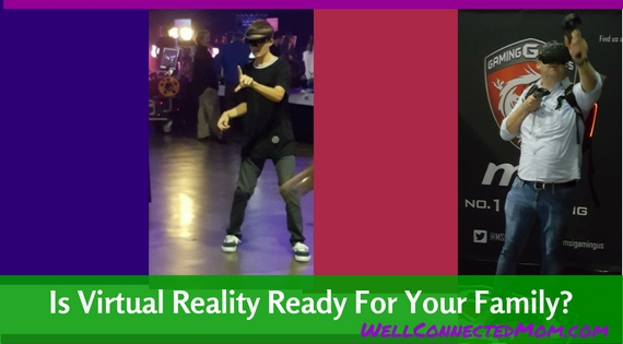 VRLA Virtual Reality for families Main