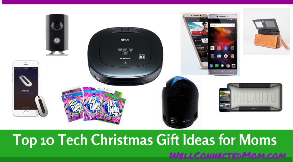 Top 10 Tech Christmas Gift Ideas for Moms - The Well Connected Mom