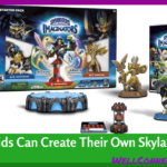 Kids Create Their Own Skylander Games Characters