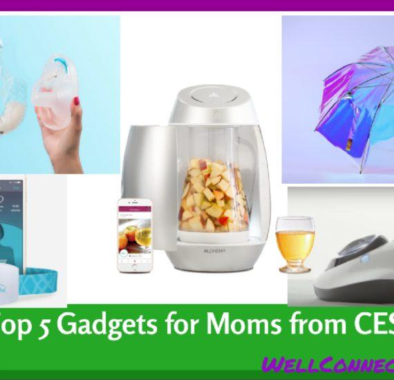 Top 5 CES Gadgets for Moms 2017 Main