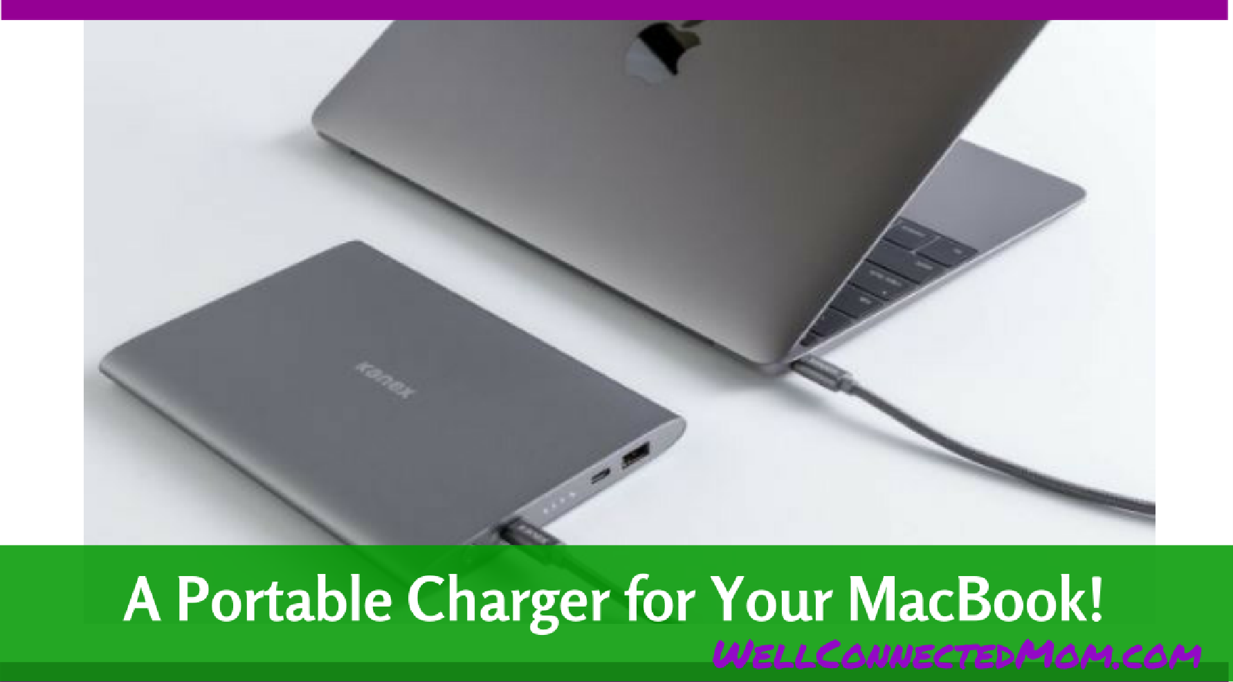 A Portable Charger For Your Macbook Pro The Well