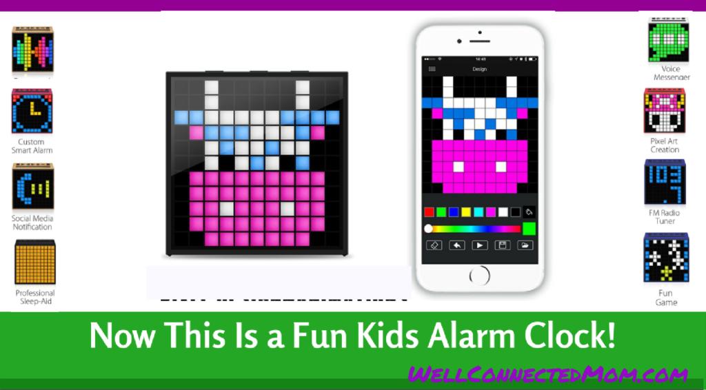 Divoom Timebox Kids Alarm Clock Main