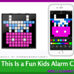 This Kids Alarm Clock Makes Your Child A Pixel Artist