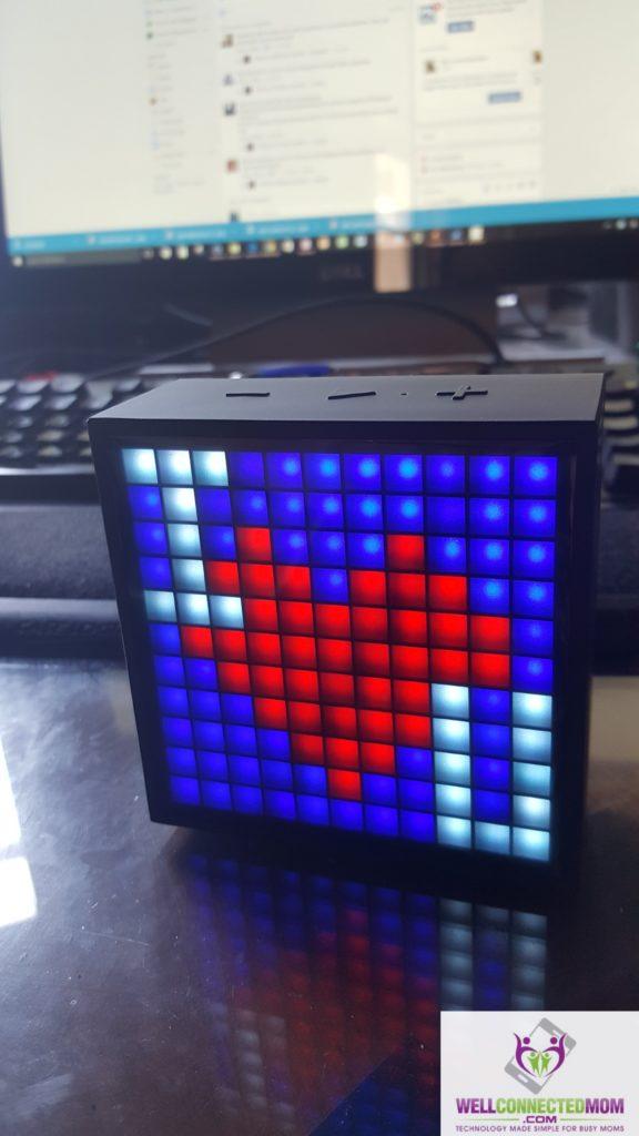 Divoom Timebox pixel clock (2)