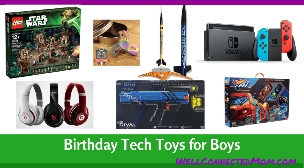 Birthday Tech Toys for Boys