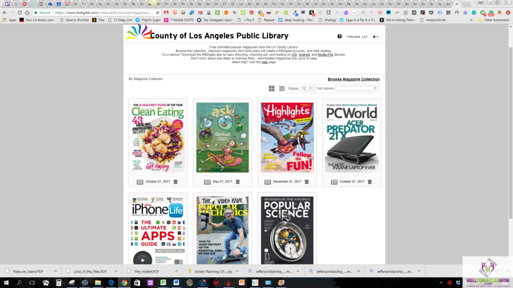 Love to read 9 free ebook library resources for your family the have partnerships with libraries so you can check out the latest or last years favorite monthly magazine edition there are lots of choices fandeluxe PDF