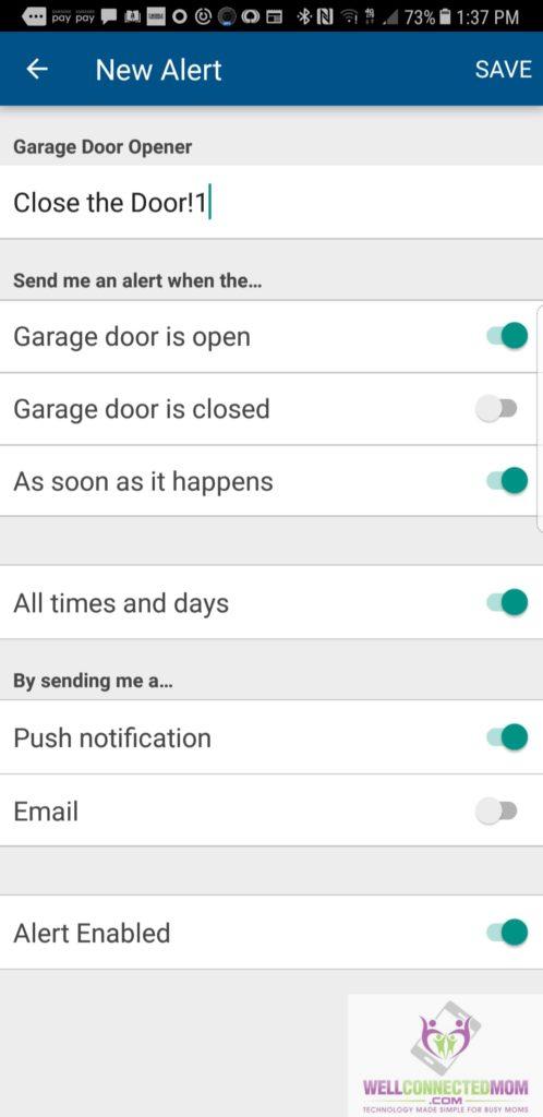 automate your garage door