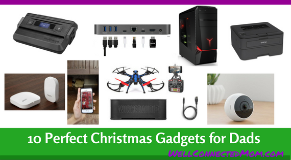 Our last tech Christmas gift guide for the year is our Dads guide. We found  some amazing gift ideas for Moms and Kids, now it's Dad's turn! - Top 10 Tech Christmas Gift Ideas For Dads 2017 - The Well Connected Mom